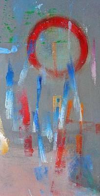 Native American Abstract Art Print by Charles Stuart