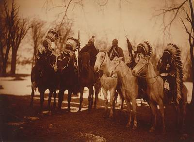 Quanah Parker Photograph - Native American Tribal Leaders by Everett
