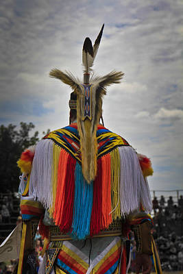 Art Print featuring the photograph Native Canadian by Nick Mares
