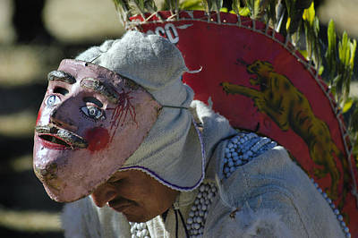 Custom Photograph - Native Dances. Department Of La Paz. Republic Of Bolivia by Eric Bauer