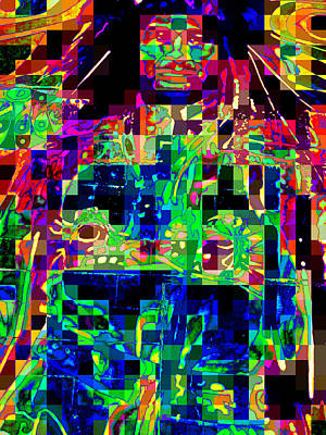 Digital Art - Native by Randall Weidner