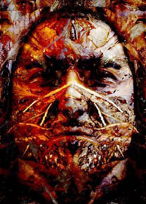 Native Spirit Art Print by Christoher Gaston