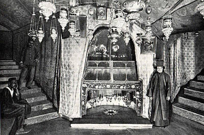Photograph - Nativity Grotto In 18th Century by Munir Alawi