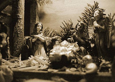 Photograph - Nativity by Julie VanDore
