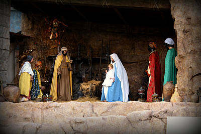 Peter Photograph - Nativity Scene  by Kevin Flynn