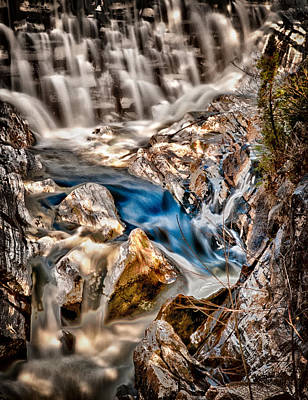 Photograph - Natural Bridge Blue Waters by Fred LeBlanc