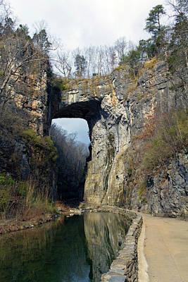 Natural Bridge Virginia Art Print