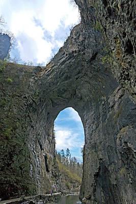 Natural Bridge Virginia2  Art Print