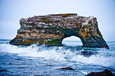 Photograph - Natural Bridges by Mickey Clausen