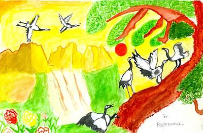 Painting - Natural by Poornima M