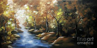 Urban Scenery Painting - Nature Beauty 3 by Uma Devi