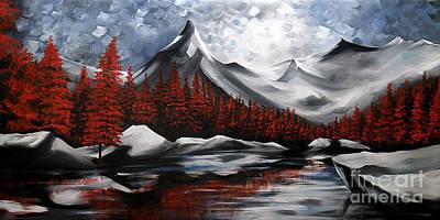 Urban Scenery Painting - Nature Beauty 6 by Uma Devi