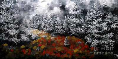 Urban Scenery Painting - Nature Beauty 7 by Uma Devi