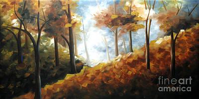 Urban Scenery Painting - Nature Beauty by Uma Devi