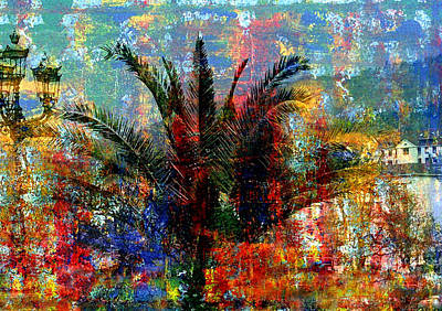 Wall Art - Mixed Media - Nature In The City by Lee Eggstein