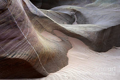 Creek Beds Photograph - Nature's Artistry In Stone by Bob Christopher