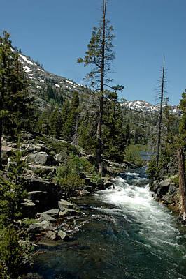 Nevada Lake Tahoe Photograph - Natures Jacuzzi  Glen Alpine by LeeAnn McLaneGoetz McLaneGoetzStudioLLCcom