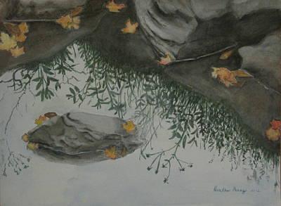 Heather Perez Painting - Nature's Mirror by Heather Perez