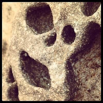Horror Photograph - Natures Scream #horror #rock #iluka by Tony Keim
