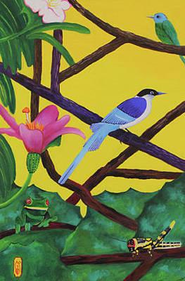 Gustavo Oliveira Painting - Natureza Brasileira by Gustavo Oliveira