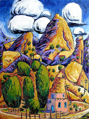 Navaho Painting - Navaho Trading Post by Charlie Spear