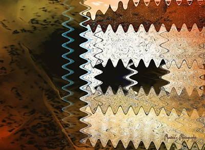 Digital Art - Navajo Nuance by Sadie Reneau