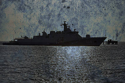 Naval Joint Operations Photograph - Naval Joint Ops V3 by Douglas Barnard