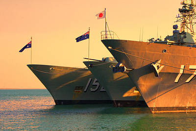 Naval Joint Operations Photograph - Naval Joint Ops V4 by Douglas Barnard