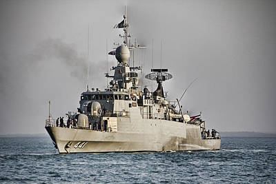 Naval Joint Operations Photograph - Naval Joint Ops V8 by Douglas Barnard