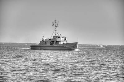 Digital Art - Navy by Barry R Jones Jr