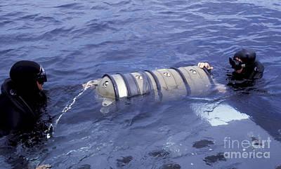Navy Seals Neutrally Ballast A Mk-v Art Print