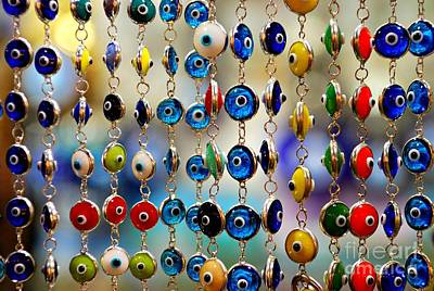 Grand Bazaar Photograph - Nazar by Dean Harte