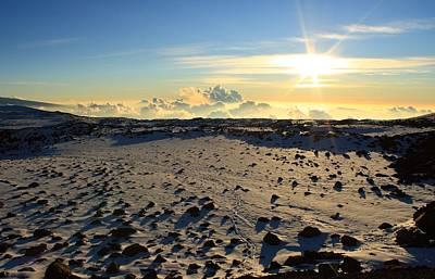 Photograph - Nearing Mauna Kea Summit by Scott Rackers