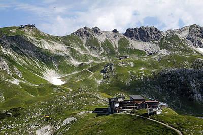 Y120831 Photograph - Nebelhorn Near Oberstdorf, Allgäu Alps, Bavaria by Hans-Peter Merten
