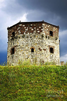 Battlements Photograph - Nebojsa Tower In Belgrade by Elena Elisseeva