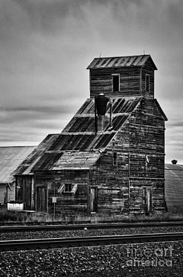 Photograph - Nebraska Grain Elevator by David Waldrop