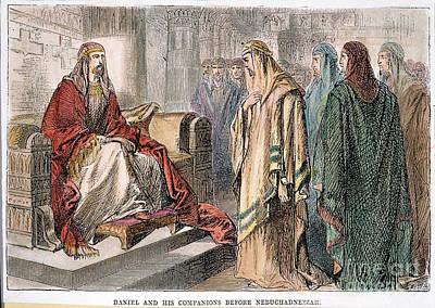 Nebuchadnezzar/daniel Art Print by Granger