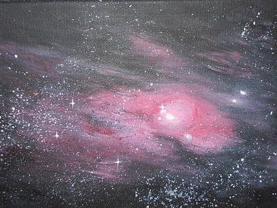 Painting - Nebula 1 by Siobhan Lawson