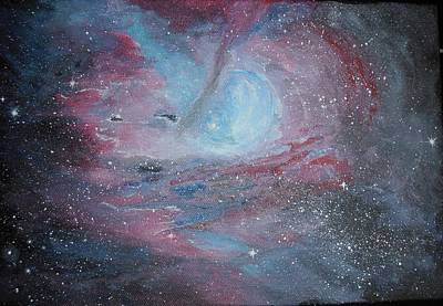 Painting - Nebula 2 by Siobhan Lawson