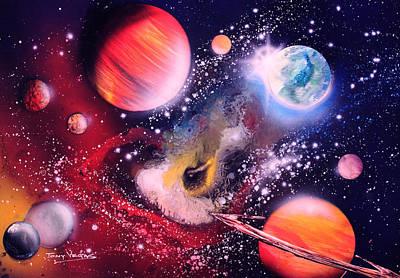 Nebula Guards Art Print by Tony Vegas