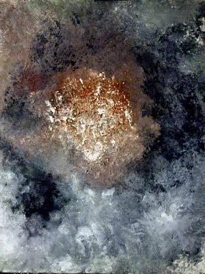 Nebula Art Print by Montserrat Lopez Ortiz