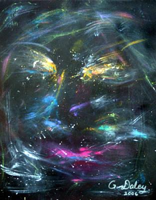 Nebula's Face Art Print