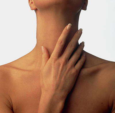 Nude Relief Photograph - Neck Massage by Phil Jude