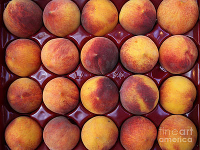 Nectarines - 5d17068 Art Print by Wingsdomain Art and Photography