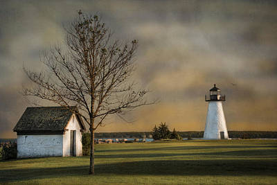 Ned's Point Light Art Print