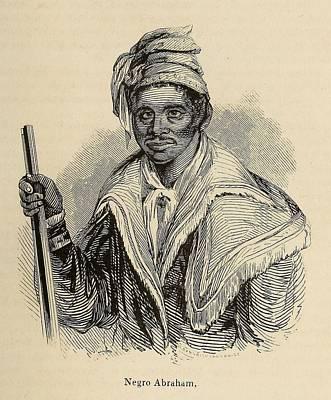 Negro Abraham Was An African Seminole Print by Everett