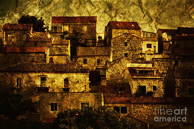 Old Houses Photograph - Neighbourhood by Andrew Paranavitana