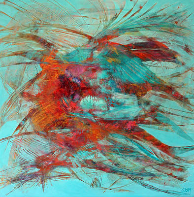 Neither Fish Nor Fowl Art Print by Gray Jacobik