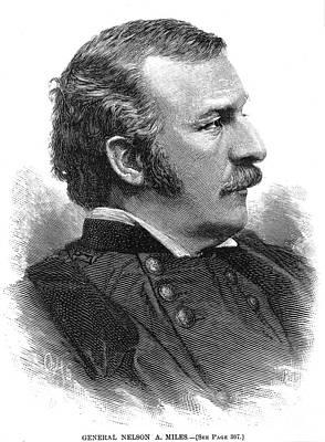 Nelson Appleton Miles Print by Granger
