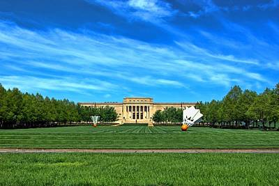 Photograph - Nelson Atkins Museum Of Art by Tim McCullough